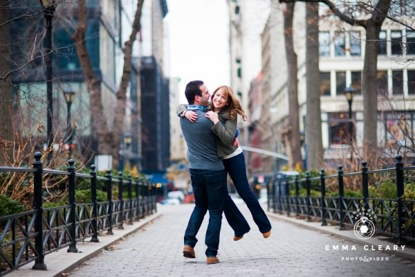 Lauren and Ben, Engagement shoot, Union Square, New York