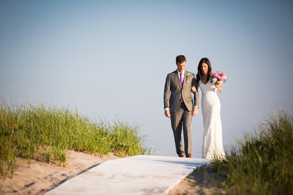 Catherine and Tim, La Ronde Beach Club, Westhampton Beach, New York