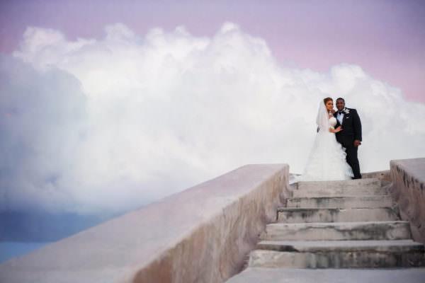 Nefitieri and Kenji, Destination Wedding at the Atlantis Hotel, Bahamas