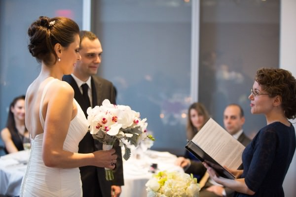 Maja and Petros, The Modern, MoMA, New York City Wedding