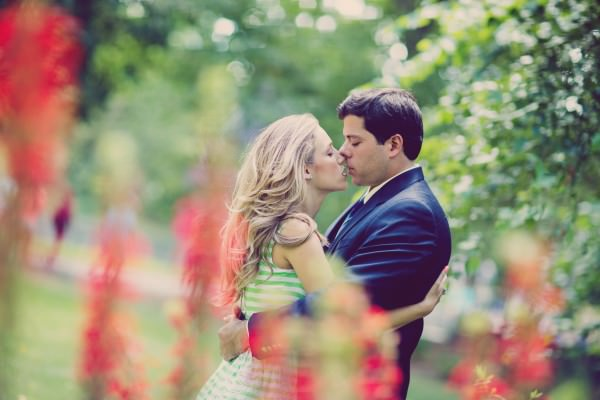 Courtney and Ryan, Engagement Shoot, Central Park