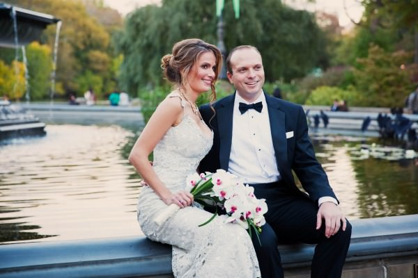 Payton and Dave, Central Park Boathouse Wedding, New York City