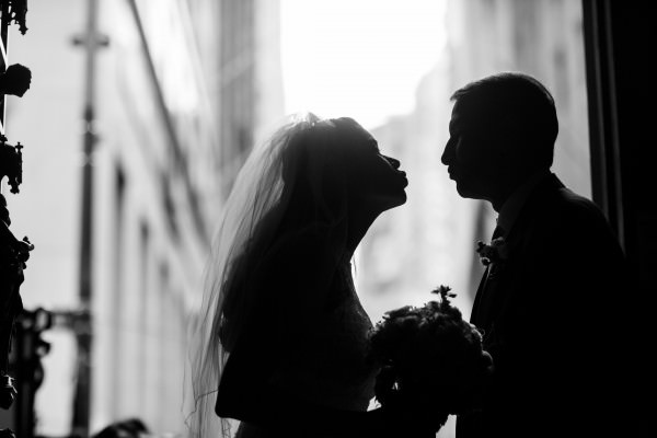 John and Grace, Trinity Church, Gigino's Wedding, New York