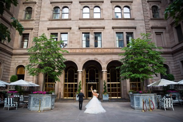 Alexandra and Andre's destination wedding, Central Park and New York Palace