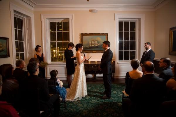 Chris and Erica, India House Wedding