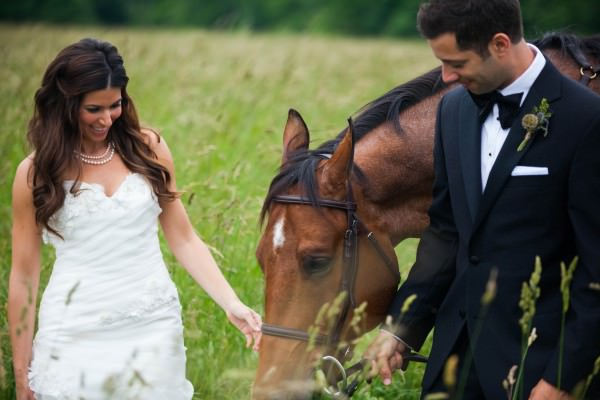 Jacqueline and Aaron, Darlington Hall wedding