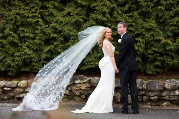 Colleen and Joe, The Garrison, Winter Wedding