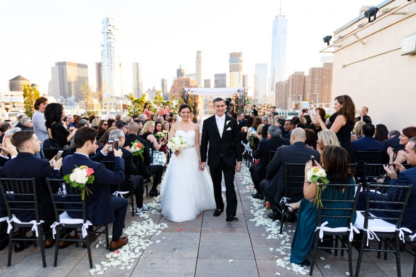 Lisa and Anthony, Tribeca rooftop wedding video, highlight reel