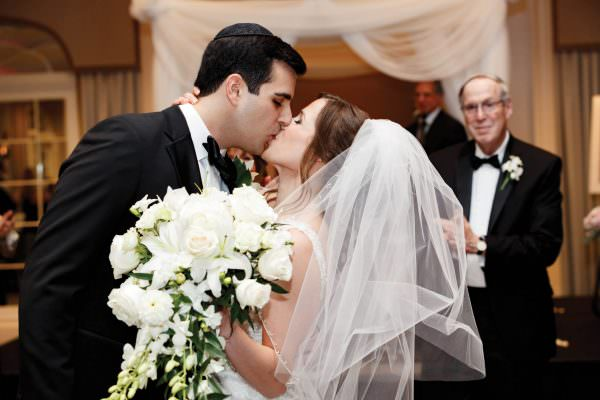 Jenna and Jonathan, Jewish wedding, Hilton Short Hills wedding photography