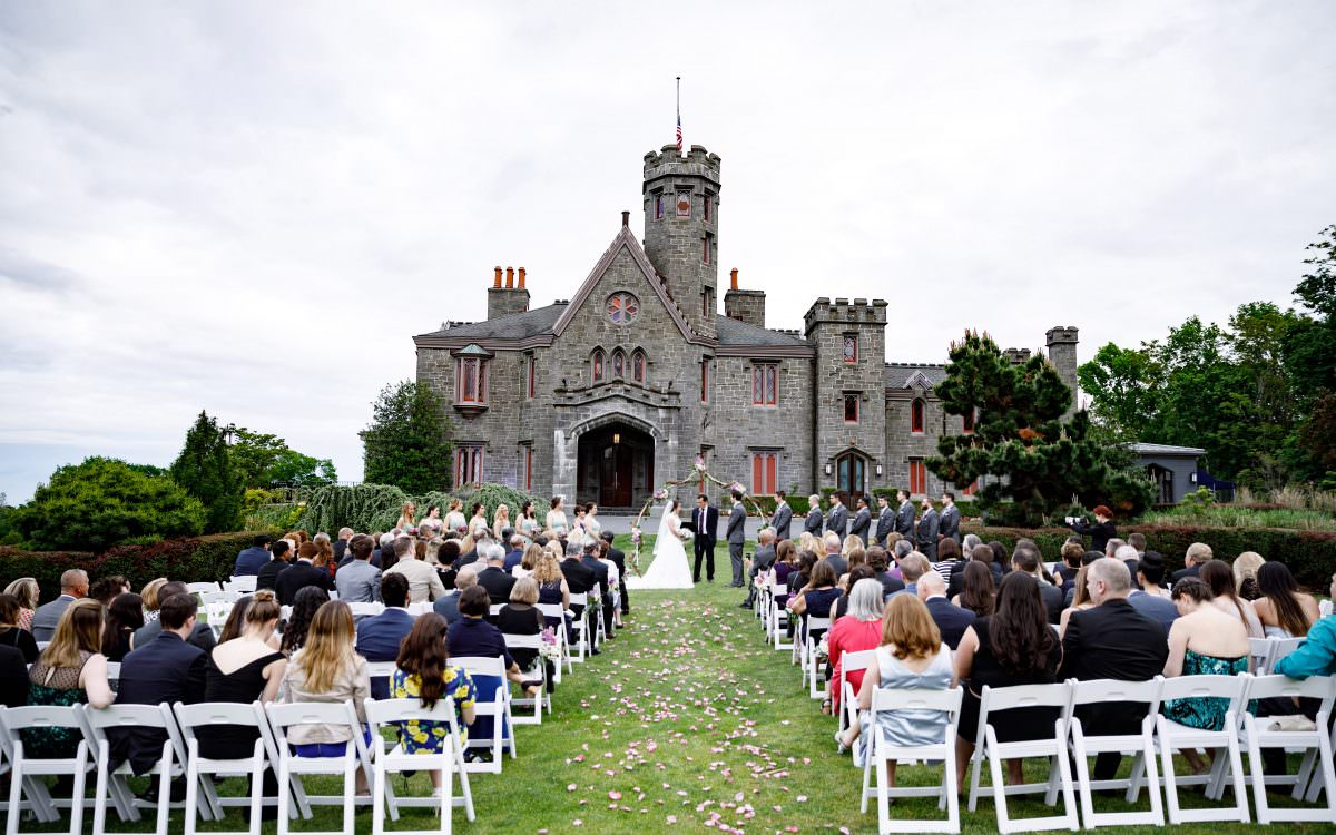 Jaclyn and Sean, Whitby Castle wedding video highlight reel