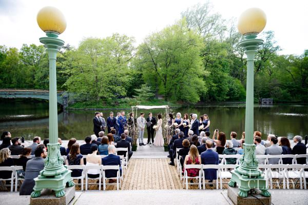 Rachel and Jonathan, Prospect park boathouse wedding photography