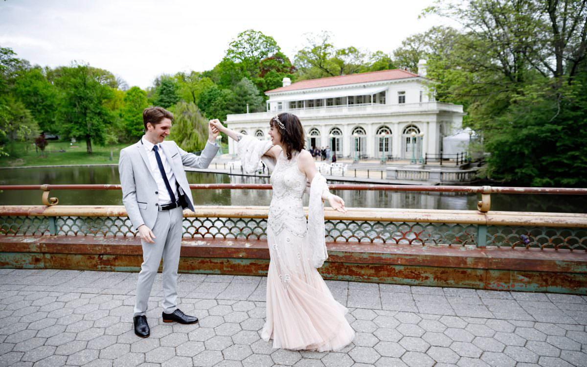 Rachel and Jonathan, Prospect park boathouse wedding photography