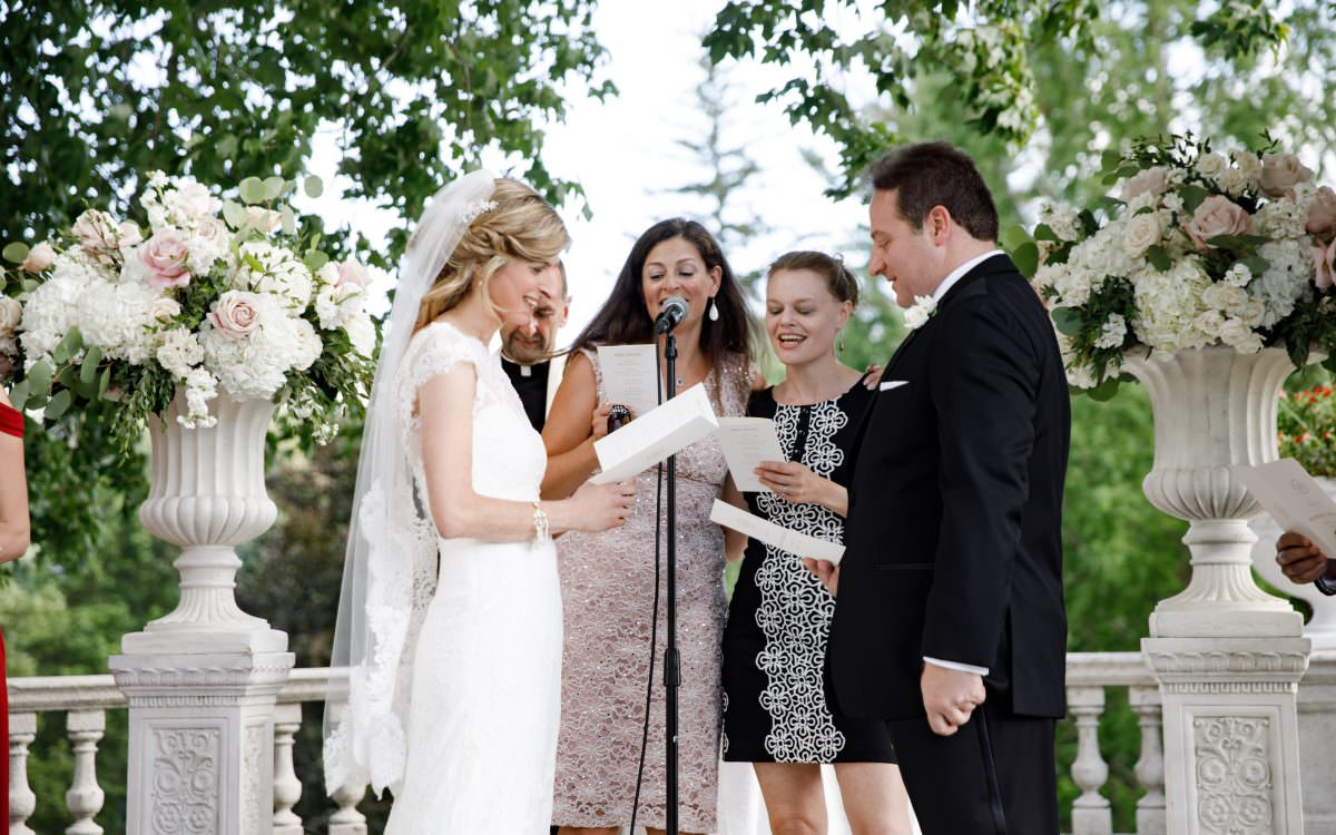 Julie and Rich, Tarrytown House Estate wedding videography, feature film
