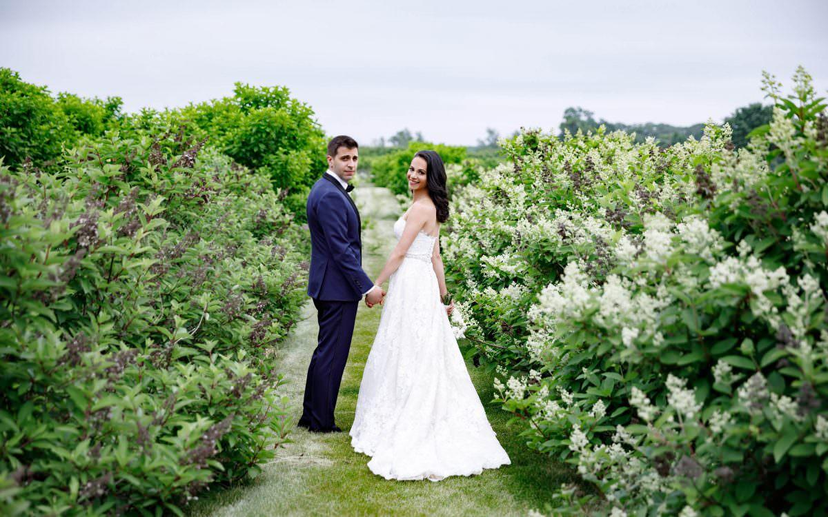 Carolyn and George, Salt Air Farm Wedding, Cutchogue NY