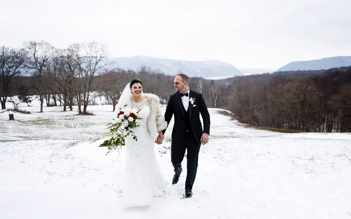 Kristina and David, The Garrison Winter Wedding Photography