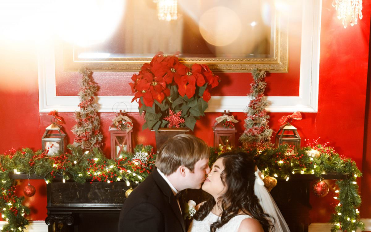 Inah and Andy, India House New York, winter wedding photography