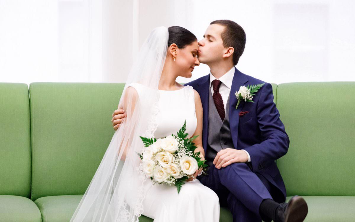 Asena and Oleksandr, City Hall Wedding Photography