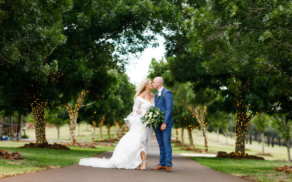 Robbie and Zoe, Preston Peak Winery Wedding Photography, Australia
