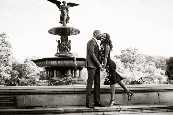 Jody and Troy, Central Park Engagement Shoot
